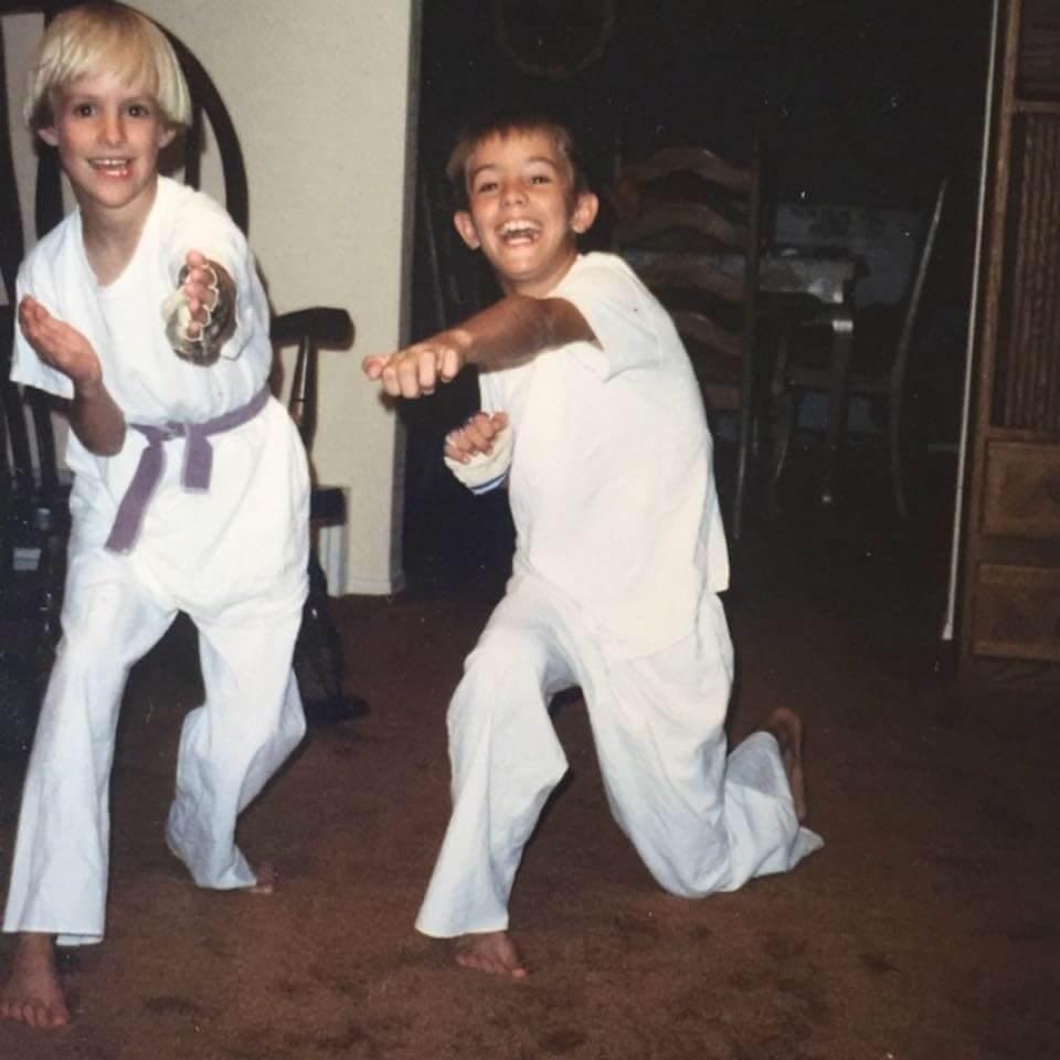 james compton - karate